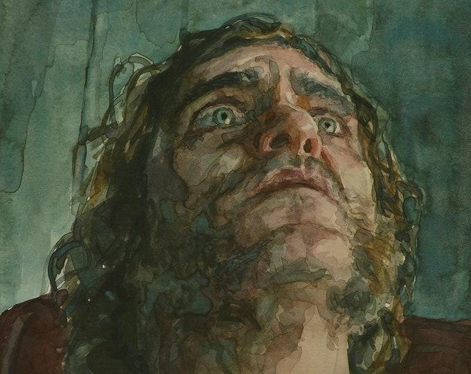 Doc Sportello, PRINT from painting - fine art prints - Inherent Vice