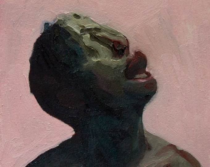 Canon (Twenty-Seventh), 7x7in Oil Painting