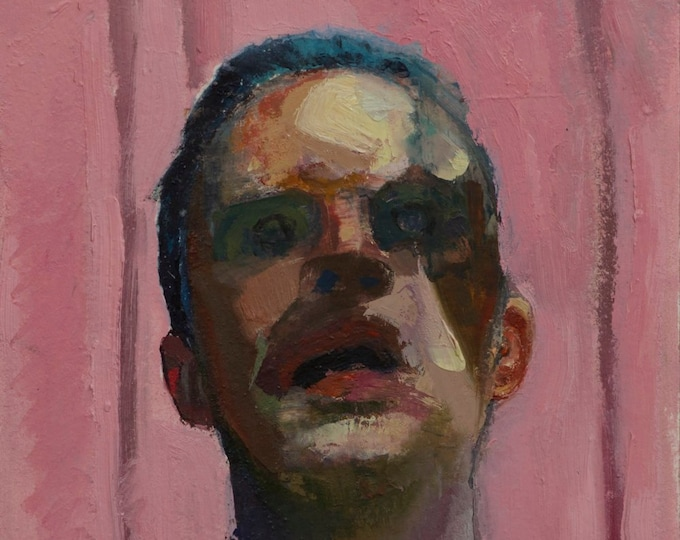 Canon (Sixty-sixth), 7x7in Oil Painting