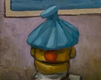 Ahhhhhh, oil painting