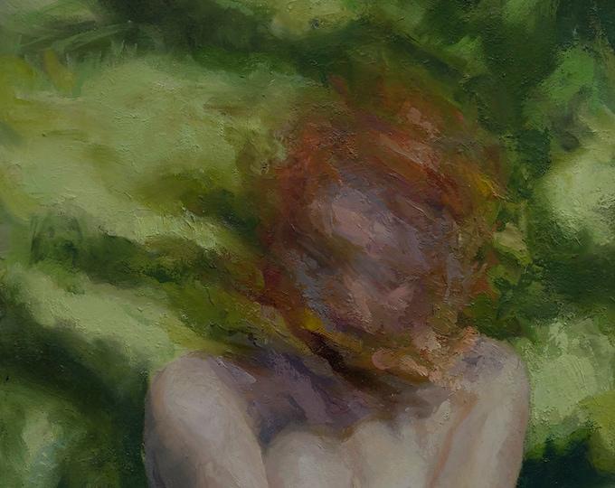 Natura Malleata, figurative oil painting original by LVP
