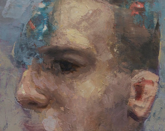 Canon (Ninety-Second), 7x7in Oil Painting