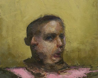 Canon (Ninety-Seventh), 7x7in Oil Painting