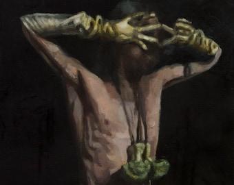Figure XIII, oil painting original