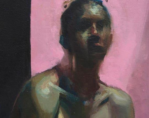 Sphinx, Oil on Canvas