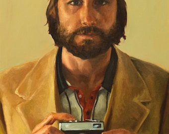 Richie TENENBAUM, PRINT, archival inks on fine art paper, inspired by The Royal Tenenbaums