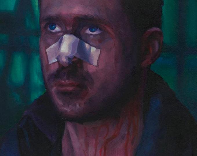 Blade Runner 2049 (K), Oil Painting