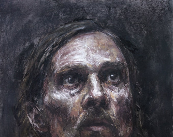 Rust Cohle in Carcosa, Print from Original Drawing