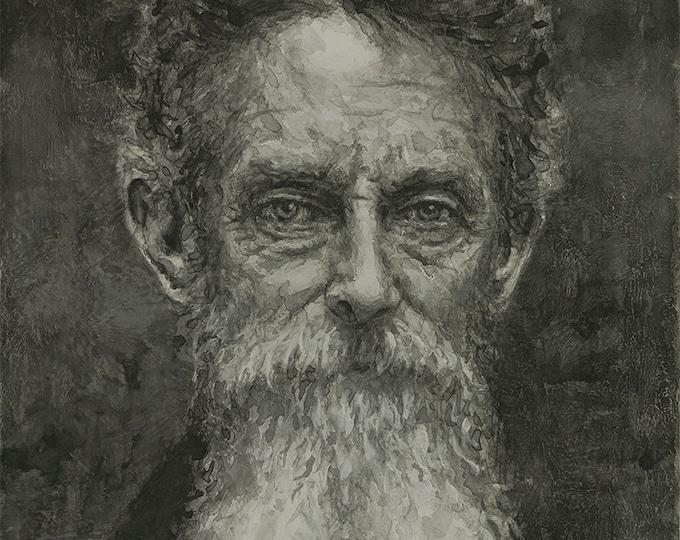 John Brown, Print from Ink artwork by LVP