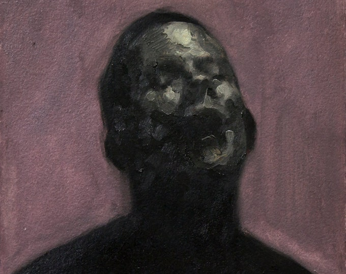 Canon (Thirty-Second), 7x7in Oil Painting