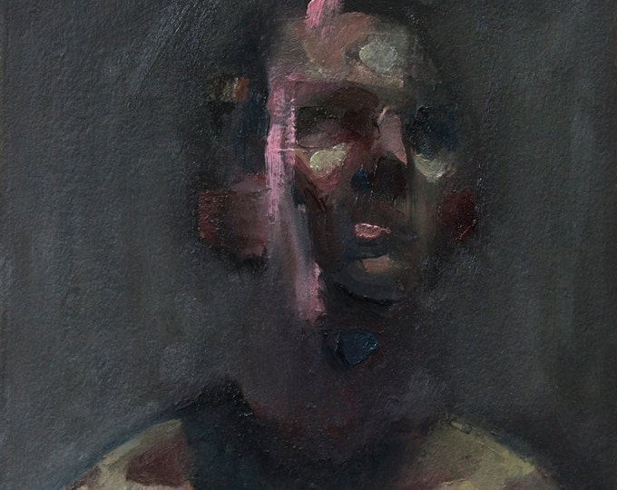 Canon (Thirty-First), 7x7in Oil Painting