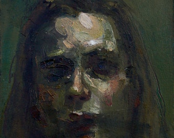 Oil Sketch 5, Small Painting