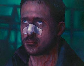 Blade Runner 2049, fine art print of ryan gosling