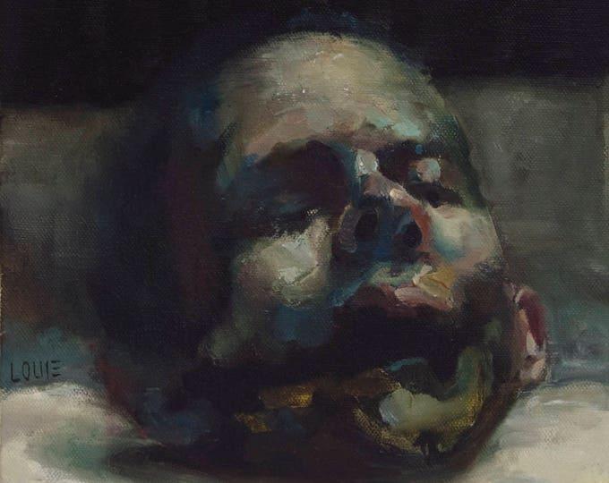 Fruchtkopf, Oil on Canvas