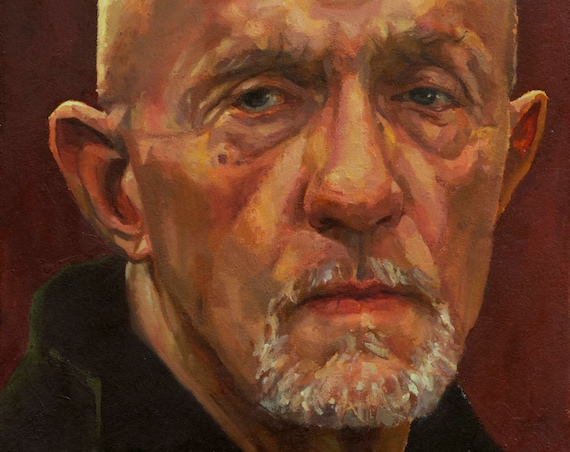 Mike Ehrmantraut, Oil Painting, Breaking Bad - Better Call Saul