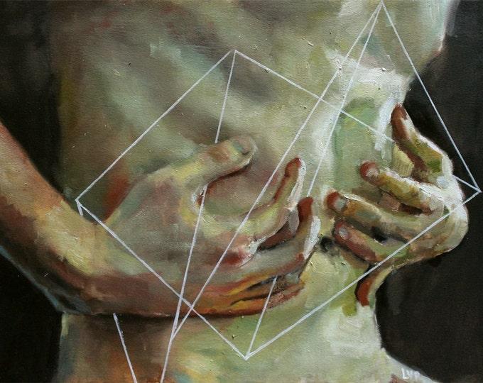 Entfalten IV, Oil Painting