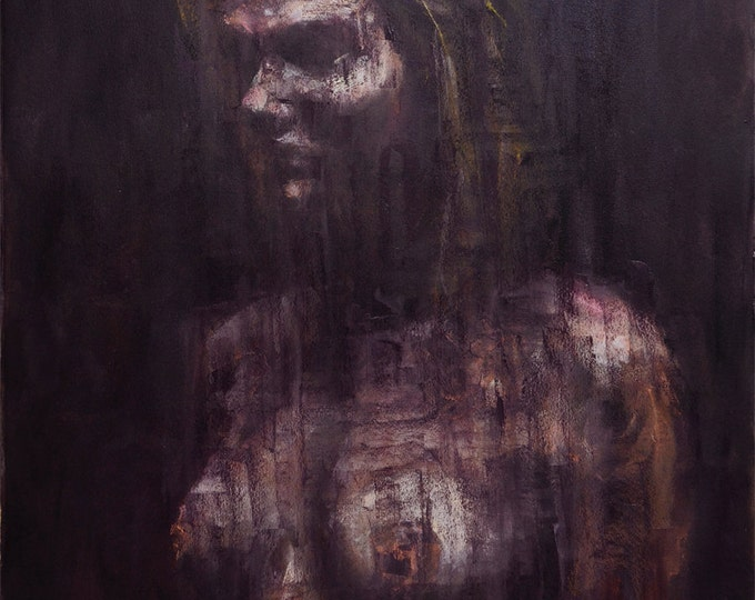 Dead Channel, Original Oil Painting