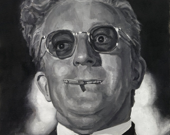 Dr. STRANGELOVE, PRINT from oil painting