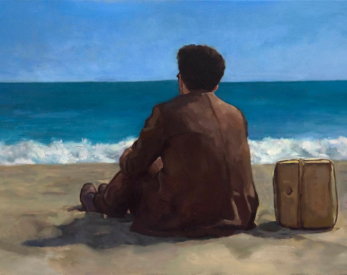 Barton Fink, PRINT from oil painting