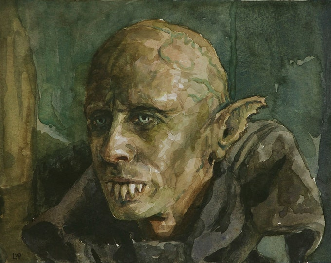 Petyr the Vampire, PRINT from painting - fine art prints - What We Do in the Shadows