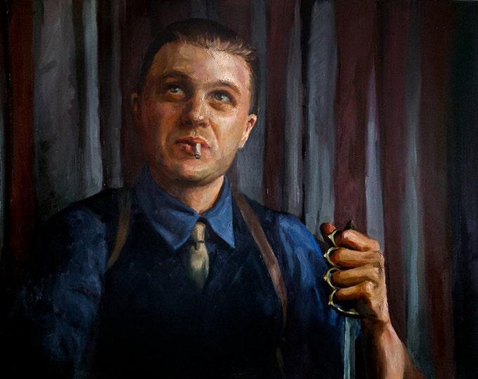 Jimmy Darmody, PRINT from oil painting - S-XL Boardwalk Empire