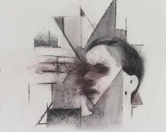 Original Drawing, 8x9in