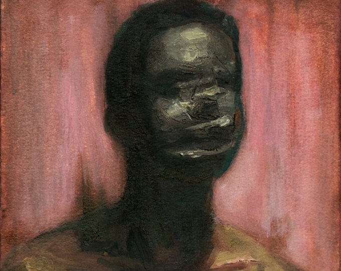 Canon (Seventh), 7x7in Oil Painting