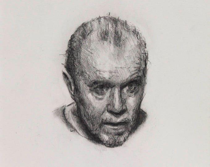 George Carlin II, drawing