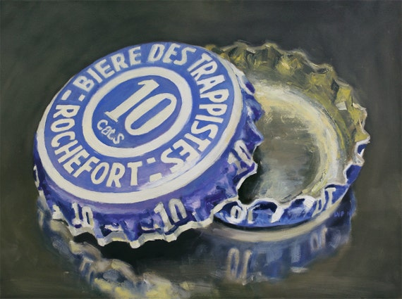 Rochefort 10, Original Oil Painting