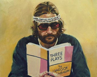 Richie TENENBAUM, PRINT from oil painting - Borderless fine art print