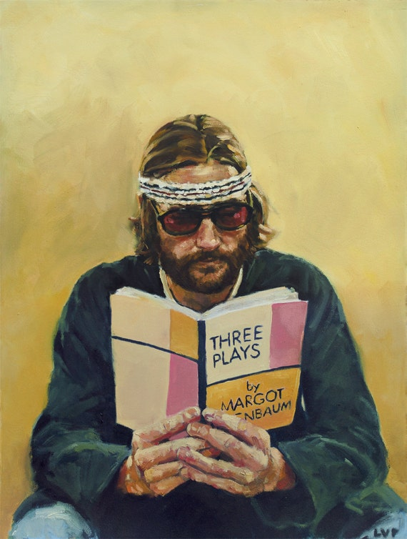 "Richie TENENBAUM, PRINT from oil painting - 8.5 x 11 "" / 11 x 17 "" / 13 x 19 "" fine art prints"
