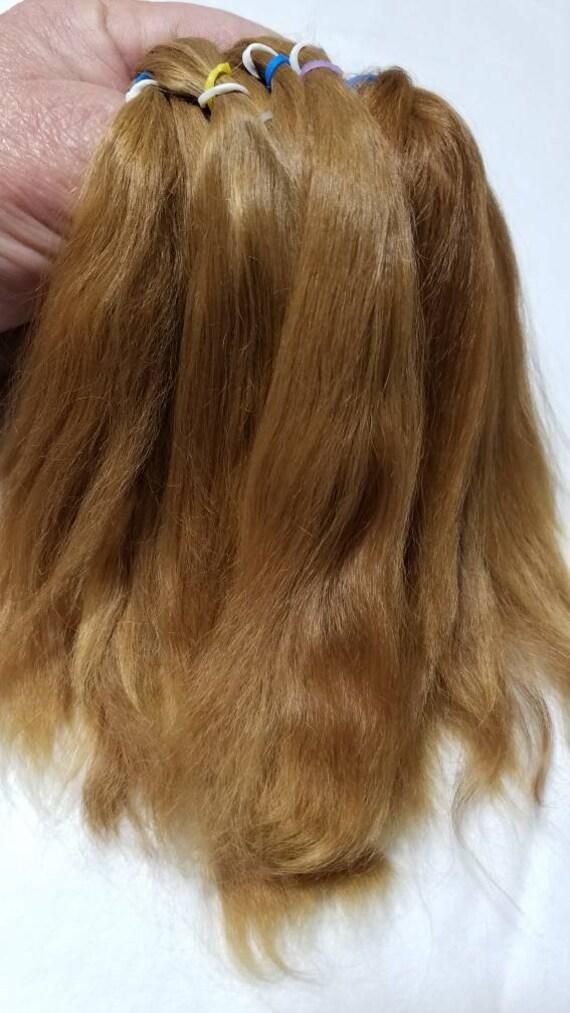 English Mohair brunette for rooting dolls Reborn 1//2 oz