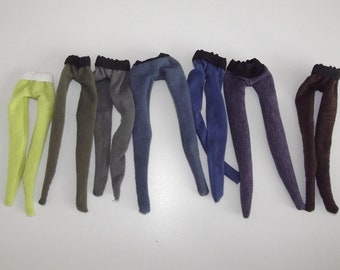 Lot of 6 pairs of tights for DAL doll Neutrals