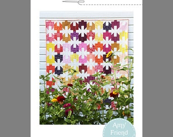 Cinched Quilt Pattern --Paper