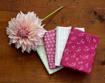 Improv Fabric Bundle of 4 Half Yard Cuts