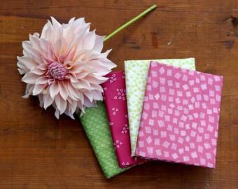 Improv and By Hand Fabric Bundle of 4 Half Yard Cuts