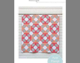 Melon Ice Quilt Pattern --PDF