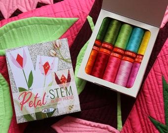 Petal + Stem Aurifil Thread Collection