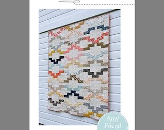 Interlock Quilt Pattern --Paper