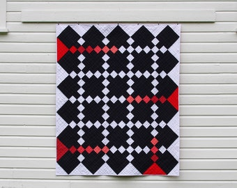 Color Injection Handmade Quilt