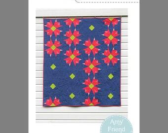 Garden Stroll Quilt Pattern --Paper