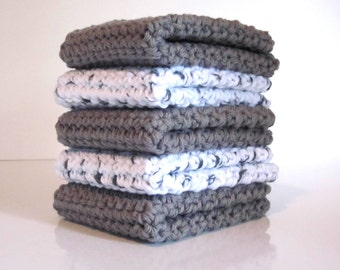 Crochet Dishcloths, Washcloths, Dish Cloth, Wash Cloth