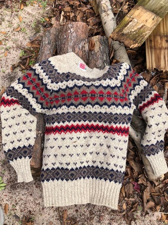 Vintage Women's Woolrich Wool Sweater
