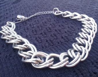Vintage art deco chain link choker