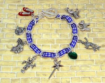 Wizard of Oz Charm Bracelet - Wizard of Oz Jewellery - Wizard of Oz Gift