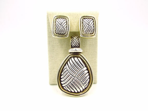 Simon Sebbag Modernist Jewelry Set - Sterling & Go