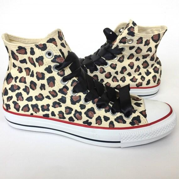 Leopard Print Custom Converse  f26a89156e48