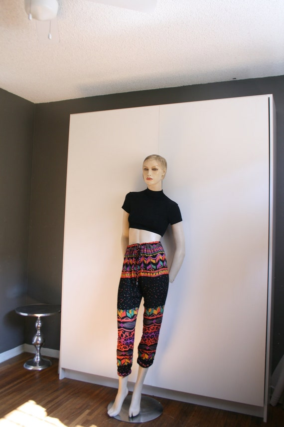 Viscose Crepe India 1990s pants