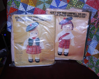 Campbells Soup Doll Kits