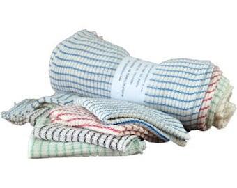 8 Pcs Baby Infant Newborn Kids Bath Towel Washcloth Bathing Feeding Wipe Cloth Soft FT Kit Soft Good Care Colorful Comfortable MarinoBIRD